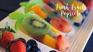 Fresh Fruits Popsicle | Kids Special Recipes | Homemade Popsicles