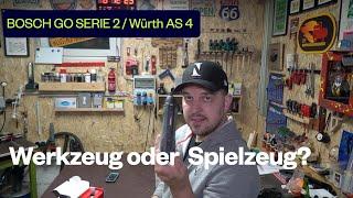 Bosch GO Serie 2 / Würth AS 4 Elektrischer Schraubendreher Test