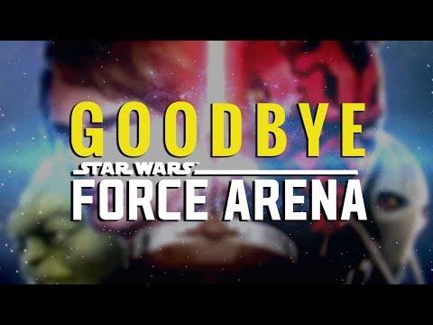 Goodbye Star Wars: Force Arena