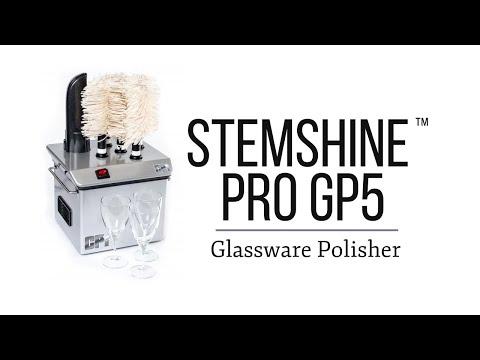 The Stemshine Pro GP5 Glassware Polisher Machine