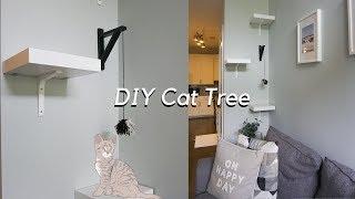 DIY Cat Tree Using Ikea Products!