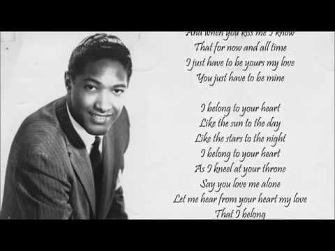 Sam cooke i belong to your heart download song