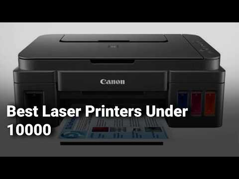 Best Laser Printers Under 10000 in India: Complete List with Features, Price Range & Details - 2019