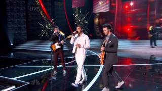 Jonas Brothers First Time Live at Miss USA 2013