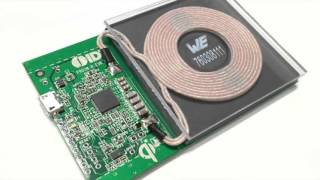 Würth Elektronik Wireless Power Coils on IDT Reference Kits