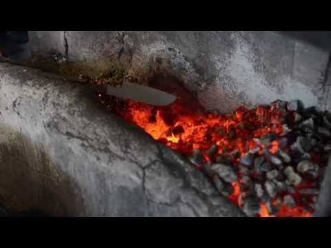 Process of making Katana kitchen knives - Japan Quality
