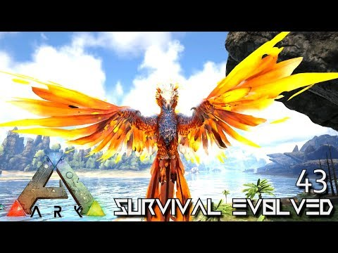 ARK: SURVIVAL EVOLVED - PRIMEVAL PHOENIX TAMING E43 !!! ( PUGNACIA PARADOS )