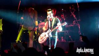 Theory Of A Deadman - Bad Girlfriend, Live @ Avalanche Tour, Ft. Wayne Indiana 3/29/2011