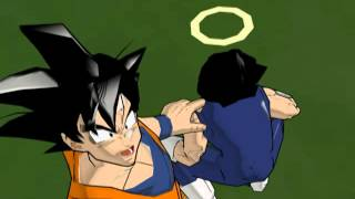 Super Buu Absorbs Goku And Vegeta