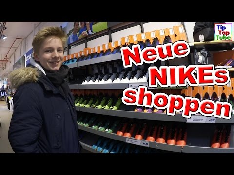 NEUE NIKEs SHOPPEN | Shopping mit Max TipTapTube