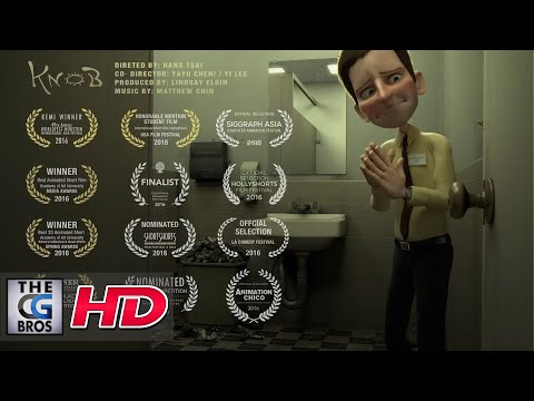 "**Award Winning** CGI 3D Animated Short Film: ""KNOB"" – by KNOB Team"