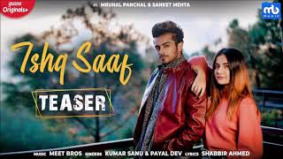 Ishq Saaf Full Audio Meet Bros Ft Kumar Sanu U0026