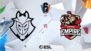 Six Invitational 2019 – Grand Finals - Day Six - G2 Esports vs. Team Empire