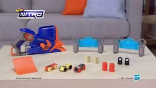 "Бластер-трек Hasbro Nerf Nitro FlashFury Chaos Флешфьюри от компании Интернет-магазин ""Timatoma"" - видео 2"