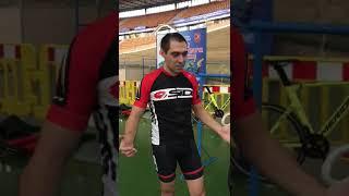 Первая вторая тренировка на велотреке. Тест велосипедов