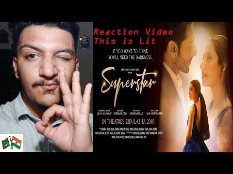 Superstar | Official Trailer Reaction 2019 | Mahira Khan | Bilal Ashraf | Jawed Sheikh