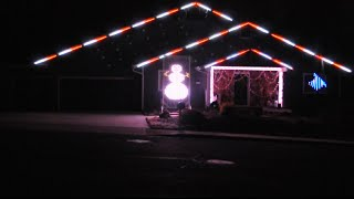 Frosty the Snowman - Flagstaff Christmas Light Show 2014