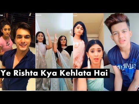 Yeh Rishta Kya Kehlata Hai Team Tiktok Video | Naira, Kartik, Riyaz, Kairav, Avneet, Arishfa