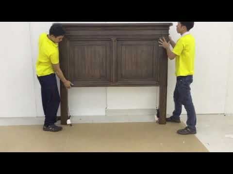 Russo Queen Bed Assembly Instructions