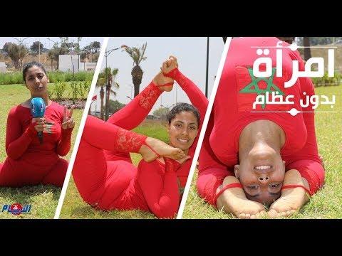 العرب اليوم - حنان تؤدي حركات صعبة للغاية بجسد رشيق