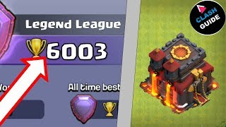 TH10 Legend | Chase 6000 Trophy | Top 3 Higher League Attacks EP #06 | Clash of Clans
