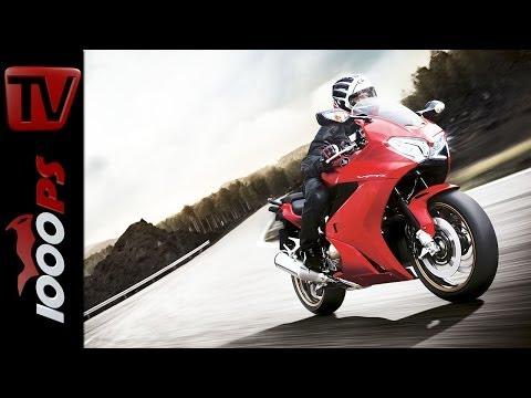 Testvideo   Honda VFR 800 F - 2014   Action, Sound, Fazit