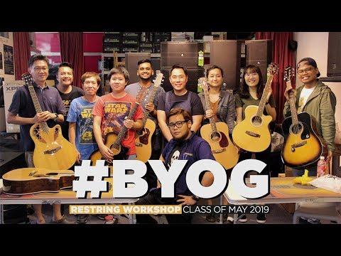 #BYOG: City Music Singapore Restring Workshop | May 2019