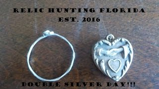 Double Silver Day A Ring & Pendant !!!!  With NEL Storm Coil