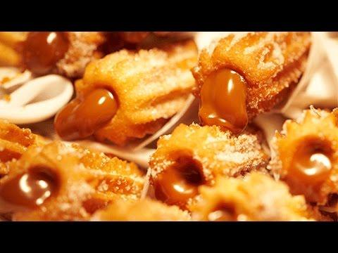 La fórmula secreta de los churros rellenos en Cocineros Argentinos