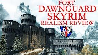 SKYRIM: Fort Dawnguard castle review