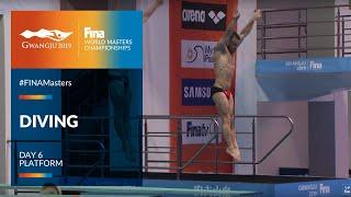 LIVE 🔴  Diving Day 6   Platform  FINA World Masters Championships 2019