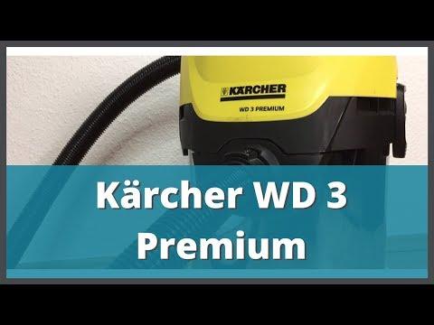 Nasssauger Test 2017/2018 | Kärcher WD 3 Premium unter der Lupe (Deutsch / German)