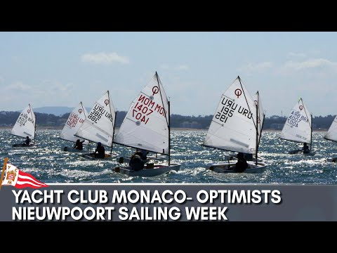 YACHT CLUB MONACO _ OPTIMISTS NIEUWPOORT SAILING WEEK