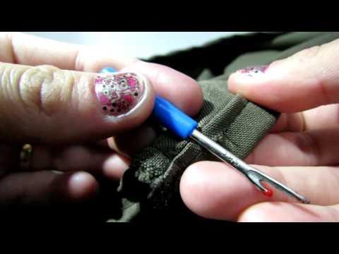 Desfaça uma costura de maneira fácil, simples e sem estragar o tecido