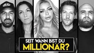 Seit wann bist du Millionär? (Fragen mit Katja, Ana, Abdel und Cengiz)