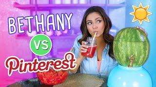 Trying Summer DIY's   Bethany VS. Pinterest