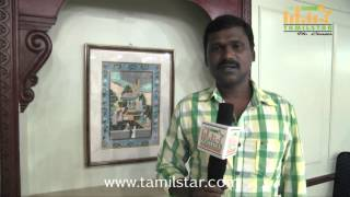 Assistant director Santha Mohan at Athithi Movie Team Interview