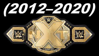 EVERY NXT CHAMPIONS (2012-2020) UPDATED