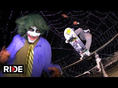 Scariest Skate Session - Kelvin Hoefler & Freinds Kill It  For Halloween