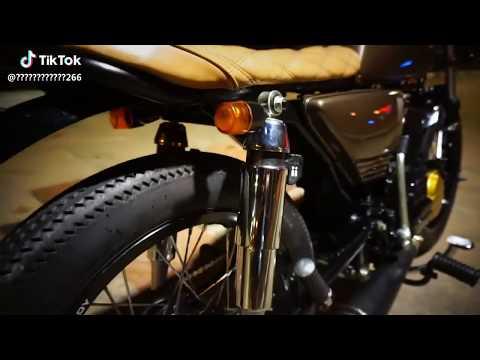 Yamaha FZ Modified To Look Like The Legendary RX 100 - SVR