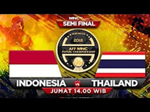 Live Now: INDONESIA Vs THAILAND - AFF MNC Futsal Championship