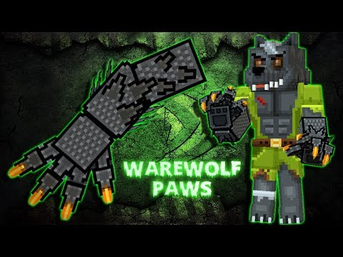 Pixel Gun 3D - Werewolf Paws [Review]