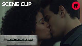 Shadowhunters | Season 2, Episode 18: Simon and Maia Kiss at the Dock | Freeform