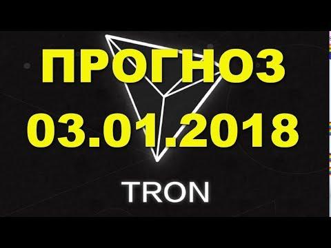 TRX/USD — TRON прогноз цены / график цены на 3.01.2018 / 3 января 2018 года