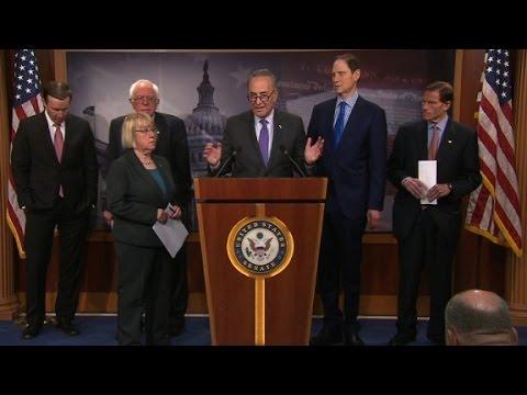 Democrats cite CBO to slam health care bill