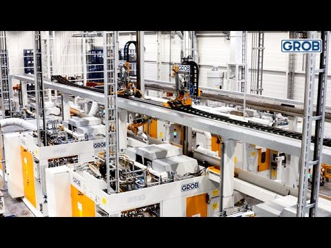 GROB manufacturing lines for AUDI