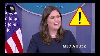Sarah Sanders Makes Fun of CNN Ratings to Jim Acosta