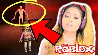 THIS GAME TRAPPED ME WITH A SCARY THING!! | Roblox Roleplay