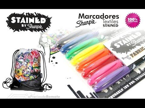 Marcadores Sharpie para textiles aPreciosdeRemate