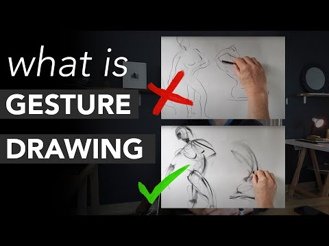 What Gesture Drawing Is - and What It Isnt